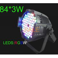 China Fusion Quality LED Parcan / 3W / RGBW / Waterproof IP20 DMX Stage Lighting on sale