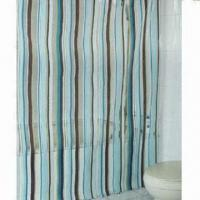 PVC shower curtain, measures 70x72 and 72x72 inches Manufactures