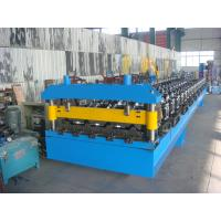 Roof Panel Sheet Metal Roll Forming Machine with High Speed and Low Labor Manufactures