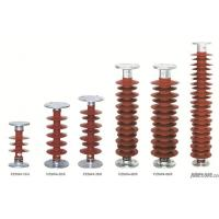 Quality Polymer post insulator is  composite insulator for 33kv post insulator and style post type insulator for sale
