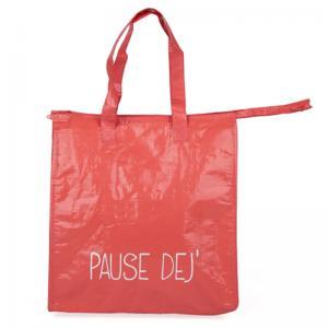 Red Eco Friendly Polythene Bags / Small Waterproof Custom Polypropylene Bags