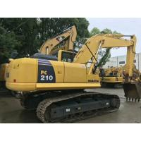 2015 year Used Komatsu Excavator PC210LC-8 with 21 ton capacity CE  SGS approval Manufactures