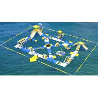 Lake Inflatable Water Games For Adults / Bouncia Water Inflatable Park Manufacturer Manufactures