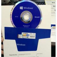 Os Software Microsoft Windows 8.1 License Key 2 DVD With Key Card 32 64 Bits Manufactures