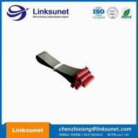 PVC Flat Ribbon Cable Assembly 2.54mm Pich UL2651 - 28AWG 10P 1.27MM PICH Manufactures