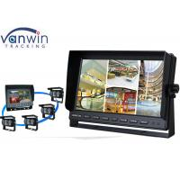 Rack Mount 10 Inch HD Car TFT LCD On-board Monitor Display with Quad Pictures Manufactures