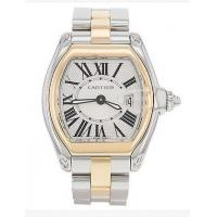 China Cartier Roaster W62026Y4 18k Yellow Gold and Stainless Steel Quartz Womens Watch on sale