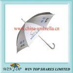 Car Advertising Straight Aluminum Umbrella (WT5031) Manufactures