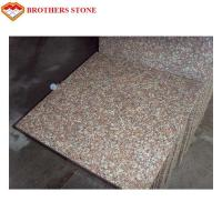 G687 Peach Flower Red Granite Stone Slabs For Bathroom Wall Tiles Manufactures