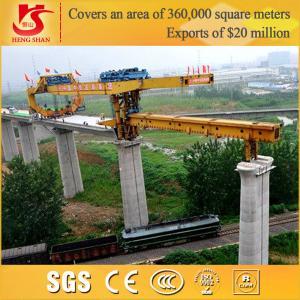 High Efficiency Double Girder Bridge Girder Erection Machine Manufactures