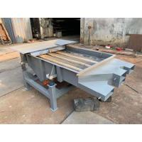 China 1-5 layers High Frequency Wooden sieve linear vibrating screen Rectangular vibrating screen on sale