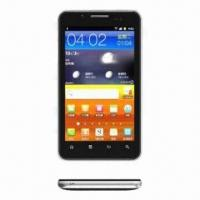 5-inch Qualcomm MSM7227A WCDMA/GSM Dual SIM cards Bluetooth + GPS Mobile Phone Manufactures