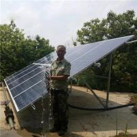 Factory Price 15hp Solar Powered Water Pump System High Pressure Borehole Manufactures