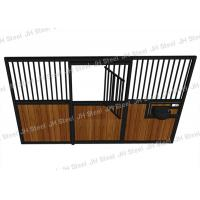Buy cheap Hdpe Infilled Temporary Horse Steel Stall , 12 Foot Horse Stall Fronts from wholesalers