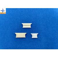 Single Row 1.25mm Pitch  Connector , Wire To Board Power Connector Gold Plated Terminal Manufactures