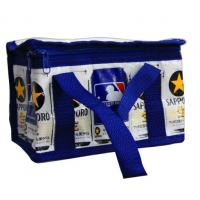 Navy Zipper Thermal Insulated Bags Aluminum Foil CMYK Printing Lunch cooler bag Manufactures