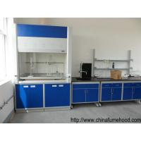 Quality Ventilation FRP Fume Hood Light Weight 12.7mm Bench Top 50mm Adjustable Feet for sale