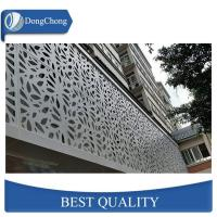 Perforated Carved Custom Aluminum Panels For Decoration Wall 1100 5052 5005 Manufactures