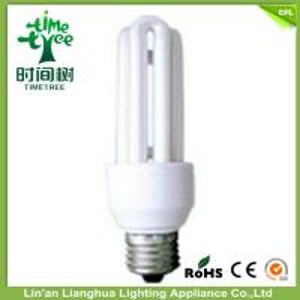 7W U Shaped Fluorescent Light Bulbs , CFL Compact Fluorescent Light Lamps Manufactures