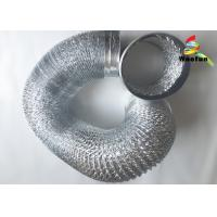 Hydroponics Ventilation Flexible Aluminium Ducting Strong Style Chemical Resistance Manufactures