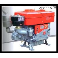 Horizontal 4 Stroke single cylinder diesel engine High Duty Combined Pressure & Splashing Manufactures