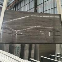 New style luxury wood grain Athen grey wood marble supplier Manufactures