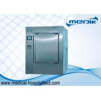 Bulk Medical Waste Vacuum Pressure Sterilizer , 360L Large Sterilization Machine Manufactures
