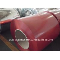 PPGI Roof Sheet Prepainted Galvanized Steel Coil Color Blue  / Red / Green Manufactures