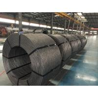 """Quality 0.5"""" / 12.7mm PC Steel Wire Strand , Low Relaxation Strand Non Rotating Grade 1860/270 for sale"""