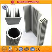 Silver White Industrial Powder Coated Aluminium Extrusions Heat Insulation Manufactures