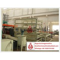 China Non Asbestos Fiber Cement Board Production Line With 2000SQM Larger Capacity on sale