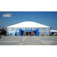 4m side height high end double deck tent house for 300-500 people with Solid wall Manufactures