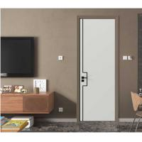 1200mm Maximum Width Interior Home Doors With Stainless Steel Slots ISO9001 Manufactures