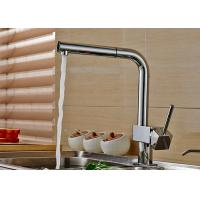 Deck Mounted Kitchen Basin Faucet ROVATE With Durable Pull Out Sprayer Manufactures