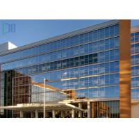 Building Material Aluminium Curtain Wall Waterproof With Double Glazing Glass Manufactures