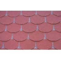 Eco decorative Fish Scale Asphalt Roof Shingles , Light Weight roof tile Manufactures