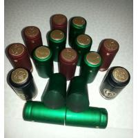 Hot Stamping PVC Shrink Capsules UV Resistant For Wine Spirit / Olive Oil Manufactures