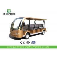 11 Seater Electric Sightseeing Bus Tourist Car with Zero Pullution Green Energy Manufactures
