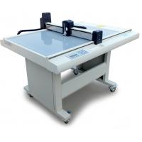 China Thin PVC Flatbed Cutting Plotter , Adhesive Film Cutting Machine For Card Paper on sale