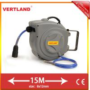 Retractable Air Hose Reel , auto - rewind air hose reel GQ150D 15m 5/16 inch Manufactures