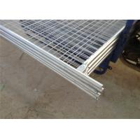 Professional Budget Temporary Fencing , Safety Fence Panels Comfortable Touch Manufactures