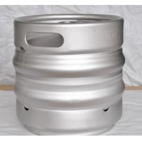 Buy cheap 15L europe keg made of stainless steel 304, food grade material, with embossing from wholesalers