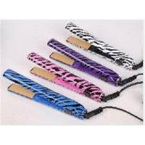 China Wholesale Zebra grain hair straightener hair irons free shipping+drop shipping on sale