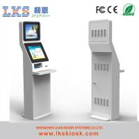 China Self Service Bill Payment Kiosk With Receipt Printer For Cash Terminal on sale