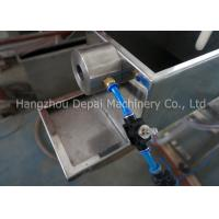 OEM Energy Saving Plastic Pipe Extrusion Machine With 90° / 45° Cut End Manufactures