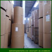 Quality stocklot art paper glossy paper coated paper material for sale