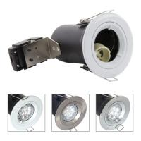 Die Cast Aluminium GU10 Fixed Fire Rated Downlight - White Color Manufactures