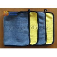 Multi Purpose Microfiber Kitchen Cleaning Cloth , Auto Microfiber Towels 30*30cm 400gsm