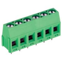 2500VAC PCB Screw Terminal Block With Flange Screw 3.81 / 5.0 / 5.08 / 7.5 / 7.62mm Manufactures