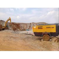 China Portable Screw Atlas Copco Air Compressors for Rock Blasting / Construction Drilling on sale